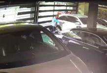 Asesina a chofer en San Pedro, NL, Queda captado por cámara de seguridad