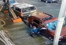 Pese a estar en silla de ruedas, robaba autopartes