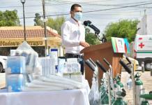 Equipa alcalde a Centro de Salud