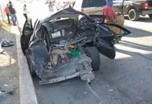 APARATOSO ACCIDENTE VIAL EN ACUÑA