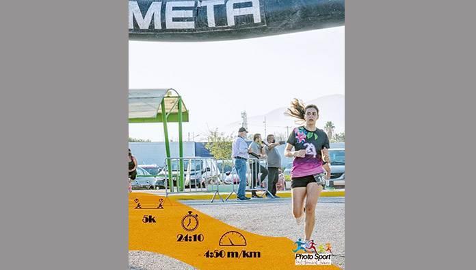 Leticia Acosta y Miguel Ángel Orduña ¡Los Triunfadores en 5-K Run With Bulls de la UPMF!