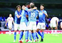 Cruz Azul derrotó por goleada al Toluca