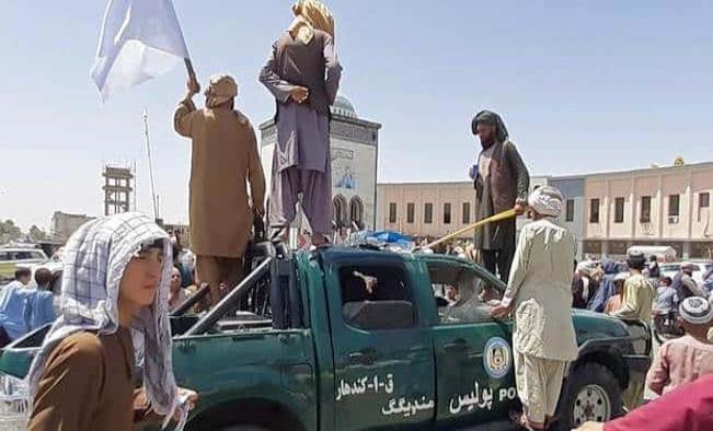 Ejército talibán toma el Palacio Presidencial en Afganistán