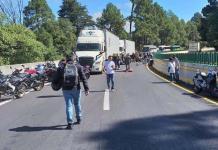Accidente en la autopista México-Cuernavaca; 15 lesionados