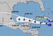 Tormenta tropical Grace se acerca a México