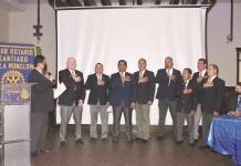 Cambio de mesa directiva del Club Rotario Santiago de la Monclova