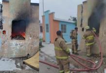 Arde vivienda abandonada en la colonia Fundadores