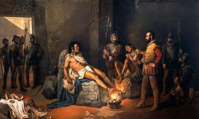 El fin de una era Cuauhtémoc; el águila que cae