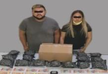 Decomisan 4 kilos de marihuana hay dos detenidos