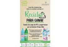 Invita Fundación Pape a canje de reciclado