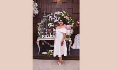 Andrea se casará en el mes de octubre