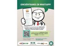 A través de WhatsApp control vehicular