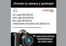 Invitan a concurso de transparencia