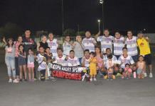 AHMSA campeones de la Liga Empresarial