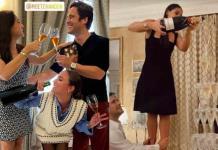 ¡Champán, lujos y amor! El romántico viaje de Renata Notni y Diego Boneta