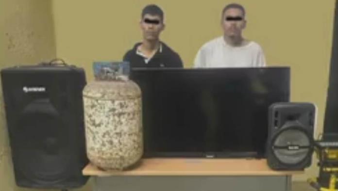 Capturan a ladrones de viviendas en Altos de Santa Teresa