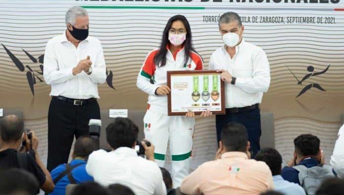 Coahuila, orgulloso de nuestros atletas