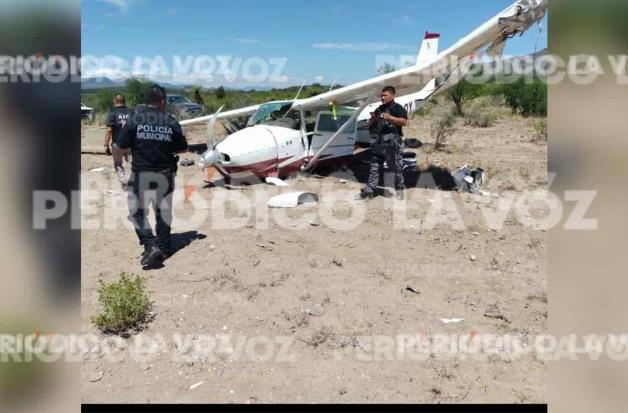 Se desploma avioneta en Castaños