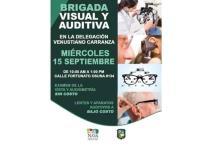 En V. Carranza llegan lentes de  la Brigada Visual