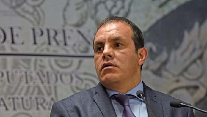 Denuncian al Gobernador de Morelos Cuauhtémoc Blanco por lavado de dinero