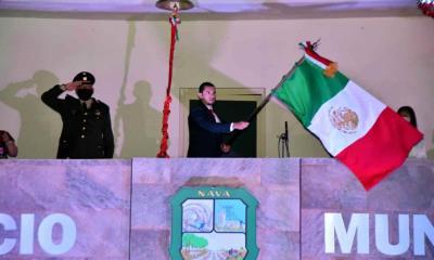 Encabeza Sergio Zenón grito de independencia