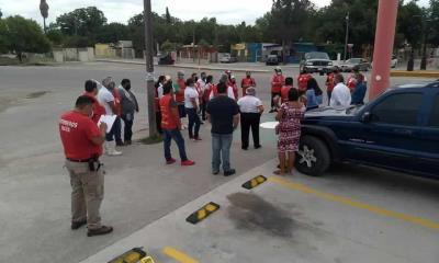 Realiza PC simulacro de evacuación en el municipio de Nava