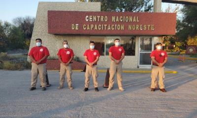 Bomberos de Nava  reciben actualización  de combate a incendios