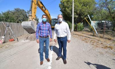 En marcha drenaje  sanitario en la Delegación Venustiano Carranza