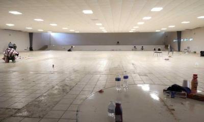 Desaparecen  haitianos refugiados estaban en el auditorio municipal de Zaragoza