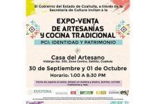 Invitan a expo de artesanías