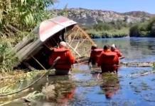 SUFREN ACCIDENTE  EN LANCHA ELEMENTOS DEL  GRUPO BETA EN ACUÑA