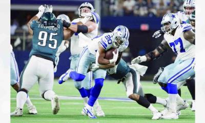 Cowboys derrotó a Eagles