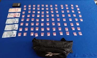 Encarcelan a narcomenudista por el delito de posesión de narcóticos
