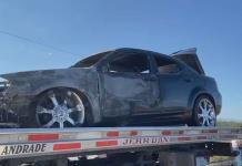 ¡Arde auto!
