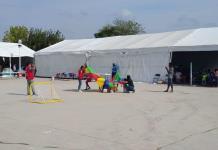 """Save the Children""  Auxilian a niños  migrantes"