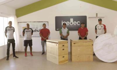 INEDEC entregó implementos deportivos