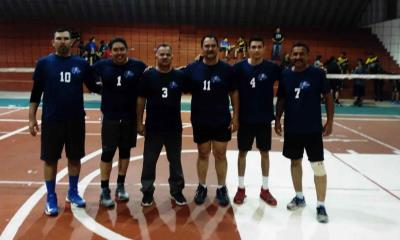 Guerreros de Sabinas  se imponen a Lobos UAC en  una gran contienda de voleibol varonil
