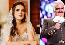 Camila Fernández habló sobre la salud de Vicente Fernández