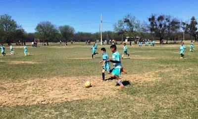 Poder guerrero en la liga infantil de futbol  Santos se impone  con goleada