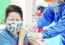 Preparan vacunación a menores