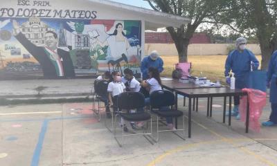 sin positivos concluyen muestreos COVID en escuelas