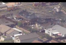 Avioneta se estrella cerca de una escuela en California