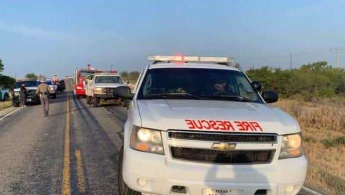 Fallece motociclista mal norte de Uvalde