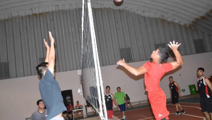 Galería Deportiva  liga de voleibol municipal