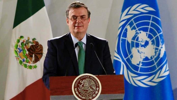 Hay generar soluciones Ebrard respalda a la ONU sobre Afganistán