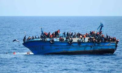 15 muertos: Naufraga barco con migrantes frente a costas de Libia