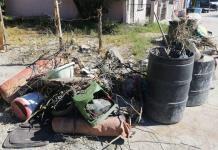 Continúan trabajos de limpieza en Allende