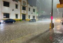 Alerta Protección Civil por lluvias intensas