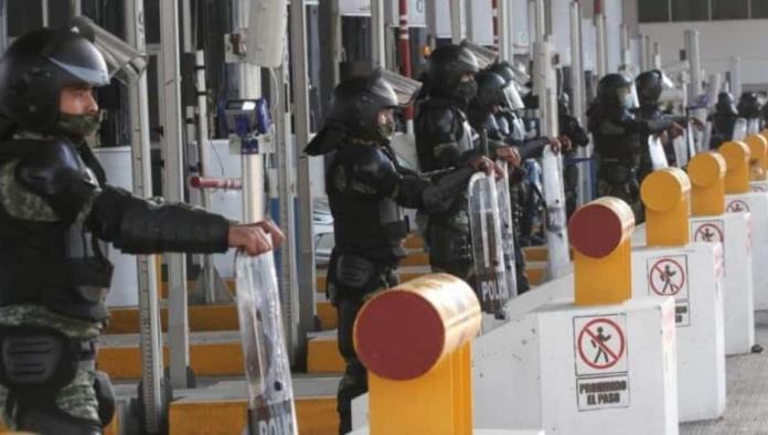 """""""Ya no sólo son protestas""""; SCT apunta a delincuencia en toma de casetas"""