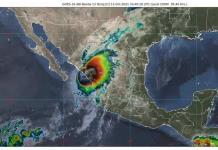 Huracán Pamela; Provocara lluvias intensas en Coahuila